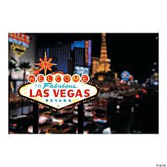 Viva Las Vegas Backdrop Banner
