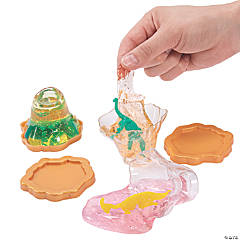 Volcano Putty with Dinosaur