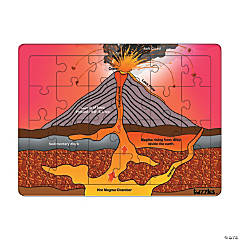 Volcano Tray Puzzle