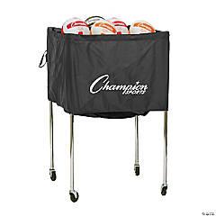 Volleyball Cart, Folding, Holds 30 volleyballs, aluminum