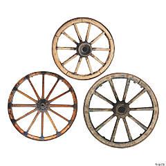 Wagon Wheel Hanging Cutouts
