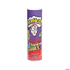 WarHeads™ Sour Chewy Cubes Candy Tube Bank