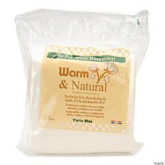 Warm Company Warm & Natural Cotton Batting - Twin Size, 72
