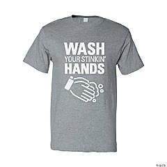 Wash Your Stinkin' Hands Adult's T-Shirt - Medium