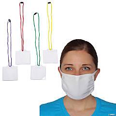 Washable Face Mask & Lanyard Kit for 10