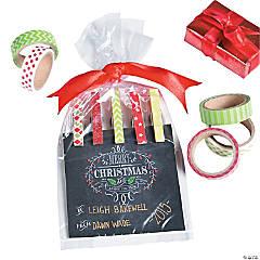 Washi Tape Magnet Clips Gift Idea