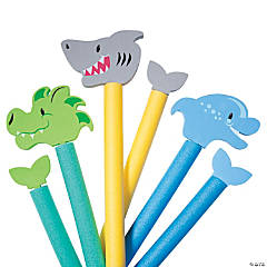 Water Animal Pool Noodle Attachments