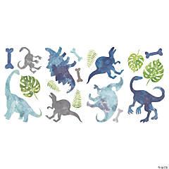 Watercolor Dinosaur Peel & Stick Wall Decals