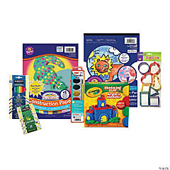 Watercolors, Dough & Clay Arts & Crafts Boredom Buster Kit