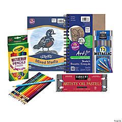 Watercolors, Oils & Sketching Arts & Crafts Boredom Buster Kit