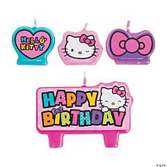 Wax Hello Kitty Rainbow Birthday Candles