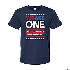 We Are One Adult's T-Shirt - Large