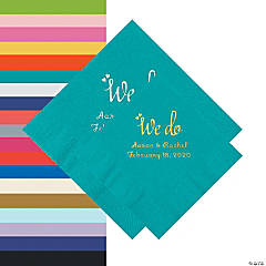 We Do Personalized Napkins - Beverage or Luncheon