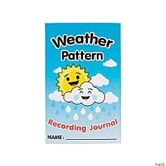 Weather Pattern Recording Journals