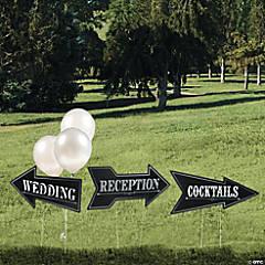 Wedding & Reception Yard Signs