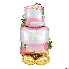 Wedding Cake Mylar Balloon