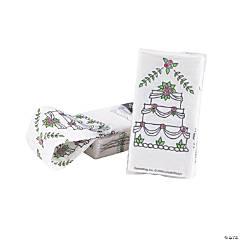 Wedding Cake Swankie Hankie™ Handkerchief Pack