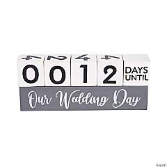 Wedding Countdown Block Set