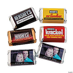 Wedding Custom Photo Mini Hershey's® Bars