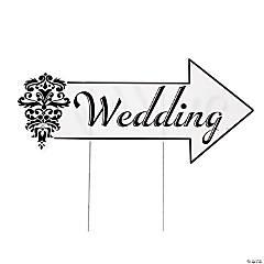 Wedding Directional Yard Sign
