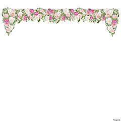 Wedding Floral Cutout Wall Décor
