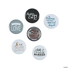 Wedding Mini Buttons