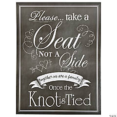 Wedding Seating Chart Sign