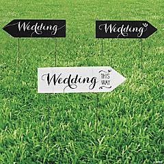 Wedding Yard Sign Set