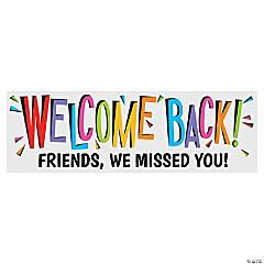 Welcome Back Custom Banner - Medium