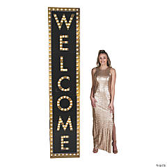 Welcome Marquee Column Stand-Up