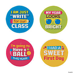Welcome to My Class Erasers - 24 Pc.