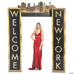 Welcome to New York Column Archway