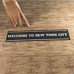 Welcome to New York Floor Cling