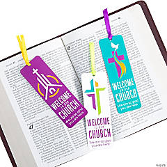 Welcome to Our Church Bookmarks