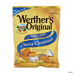 Werther's Original Chewy Caramels Sugar Free, 2.75 oz, 3 Pack