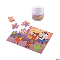 Western Animals Jigsaw Puzzles