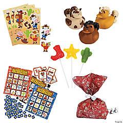 Western Bingo Prize Kit