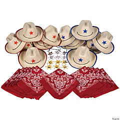 Western Dress-Up Accessory Kit for 12