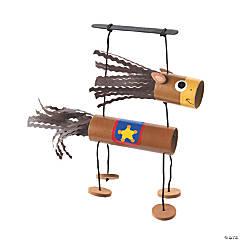 Western Horse Craft Tube Puppet Craft Kit