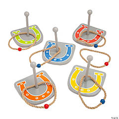 Western Horseshoes Ring Toss Game