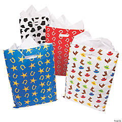 Western Print Goody Bags