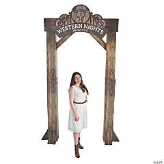 Western Ranch Arch with Personalized Sign