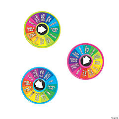 Wheel of Chance Activity Spinner Toys