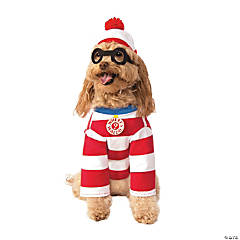 Where's Waldo Woof Dog Costume