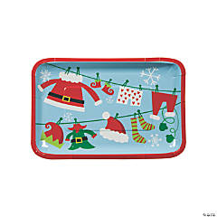 Whimsical Christmas Appetizer Plates
