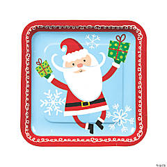 Whimsical Christmas Dinner Plates