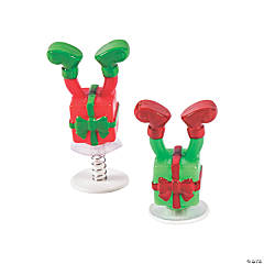Whimsical Christmas Elf Legs Pop-Ups