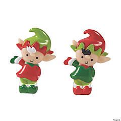 Whimsical Christmas Elf Toys