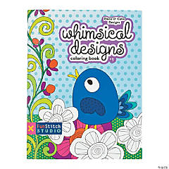 Whimsical Designs Coloring Book