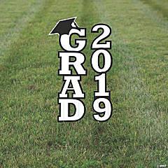 White 2019 Grad Yard Signs